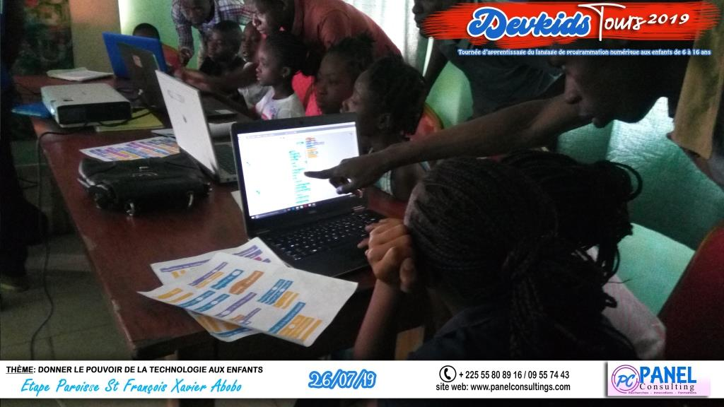 Devkids-codage abobo St Francois Xavier-panel-consulting 101-2019