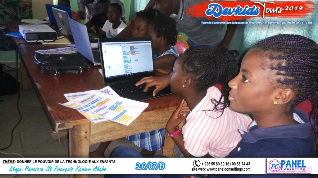 Devkids-codage abobo St Francois Xavier-panel-consulting 102-2019