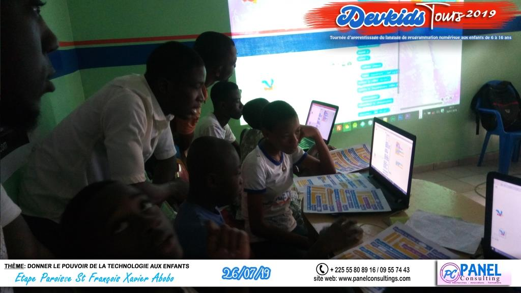 Devkids-codage abobo St Francois Xavier-panel-consulting 103-2019