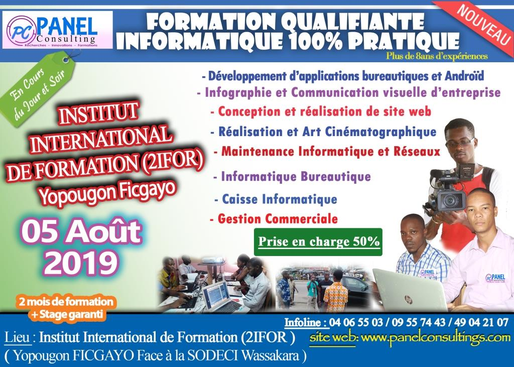Affiche formation qualifiante 2018-2019 yopougon_2ifor_aout_rvb.jpg - panel consulting